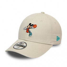 Casquette Mickey Mouse Basketball New Era sport 9Forty pour Enfant