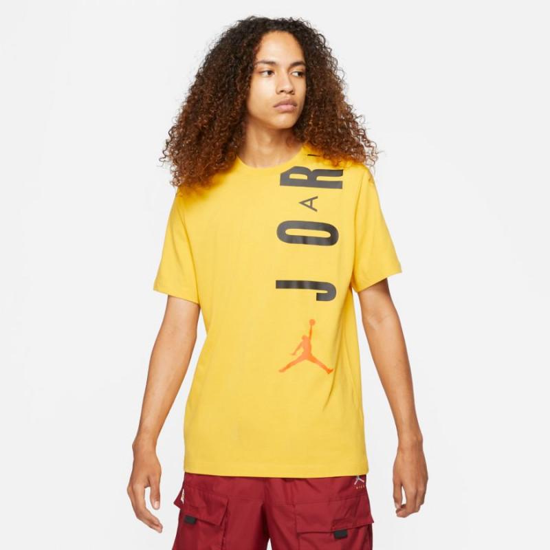 T-shirt Jordan Jumpman Air Jaune