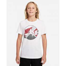T-shirt Jordan Jumpman Patched Blanc Pour Enfant