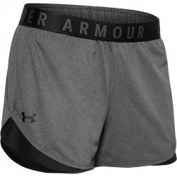Short pour femme Under Armour play up 3.0 Gris