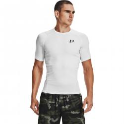 Men's Under Armour Heatgear compression Short Sleeve T-shirt White