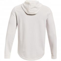Sweat à capuche Under armour Rival Terry Big Logo Blanc