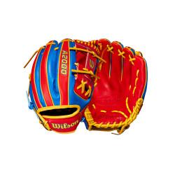 """Gant de Baseball Wilson A2000 1786 Venezuela 11,5"""" Infield"""