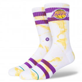Chaussettes Los Angeles Lakers NBA Stance Dyed