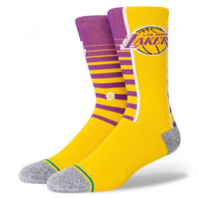 Stance NBA Los Angeles Lakers Gradient Sock yellow