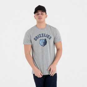 T-Shirt NBA Memphis Grizzlies New Era Team logo Gris