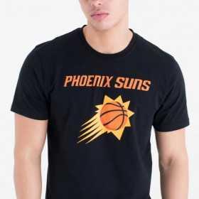 T-Shirt NBA Phoenix suns New Era Team logo Noir