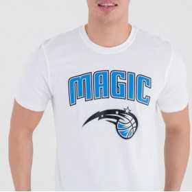 Men's New Era Team logo T-shirt NBA Orlando Magic White