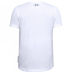 T-shirt pour enfant Under Armour Curry Free hand Eddy Blanc