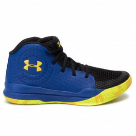 Kid's Under Armour Jet Mid 2019 basketball shoe Royal