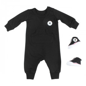 Baby's Converse Lil Chuck Coverall Black