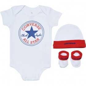 Baby's Converse Classic Bodysuit crepper set White