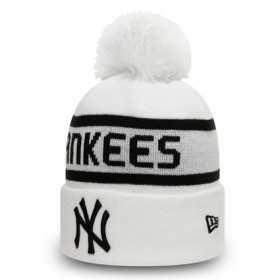 Bonnet MLB New York Yankees New Era Jake Cuff Blanc