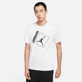 T-shirt Jordan Jumpman Box Blanc