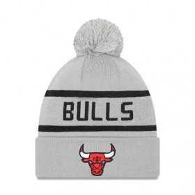 New Era Jake Cuff Knit NBA Chicago Bulls Grey