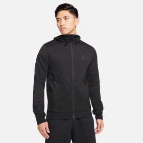 Men's Jordan Dri-Fit Air Full Zip Hoodie black