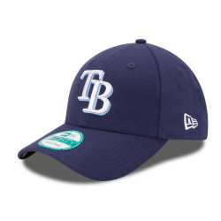 New Era The league 9Forty ajustable hat MLB Tampa Bay Rays navy