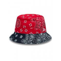 New Era Paisley Bucket Red