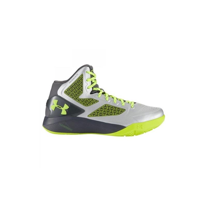 Métal De 2 Armour Basket Chaussure Jaune Under Drive Clutchfit Gris gwHq18xa
