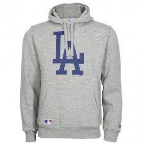 New era Team logo hoody MLB Los Angeles Dodgers Grey