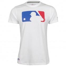 New era MLB logo Tee blanc