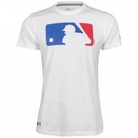 T-shirt MLB New era MLB logo batterman Blanc