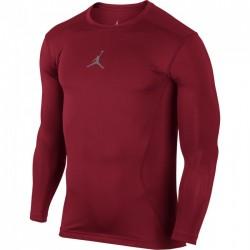 Air Jordan  All Season Compression manche longue Rouge