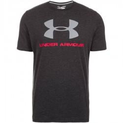 Under Armour T-shirt Sportstyle Logo Gris Foncé