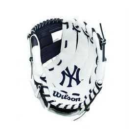 """Gant de Baseball Wilson A200 pour enfant 10"""" LHC droitier Yankees"""