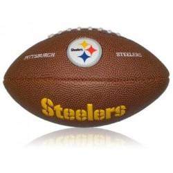 Mini ballon de Football Américain Wilson NFL team logo Steelers