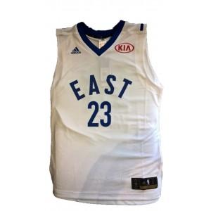 adidas Maillot NBA All Star Game 2016 Lebron James Blanc