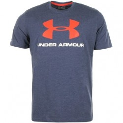 Under Armour T-shirt Sportstyle Logo Navy/Rouge