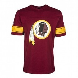 New Era NFL V-Neck T-Shirt Washington Redskins