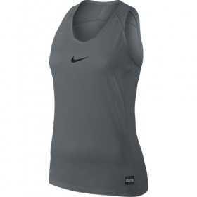 Nike Débardeur Elite Femme Gris