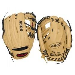 Gant de Baseball Wilson A500 Lh droitier BBG junior crème