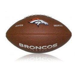 Mini ballon de Football Américain Wilson NFL team logo Denver Broncos