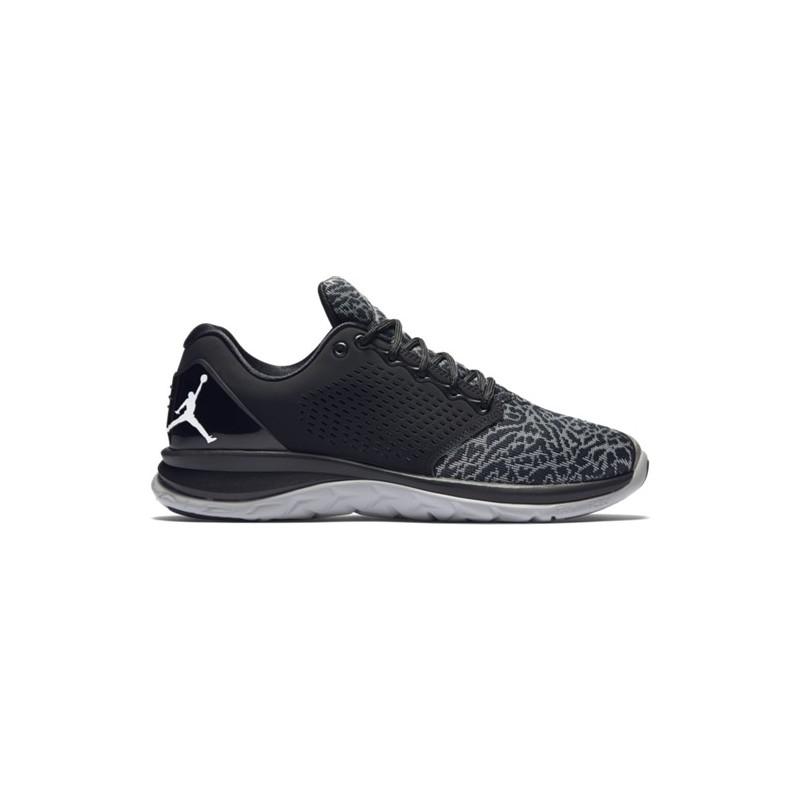 chaussure de running jordan trainer st noir