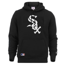 Sweat à capuche New era Team logo hoody White sox noir