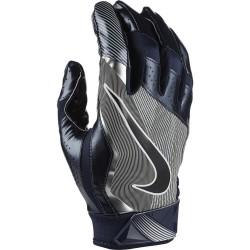 Gant de football américain Nike vapor Jet 4.0 pour receveur bleu navy