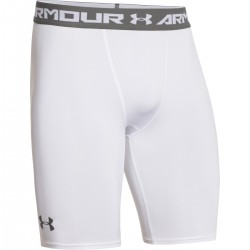 Under Armour HG Long Comp Short Blanc