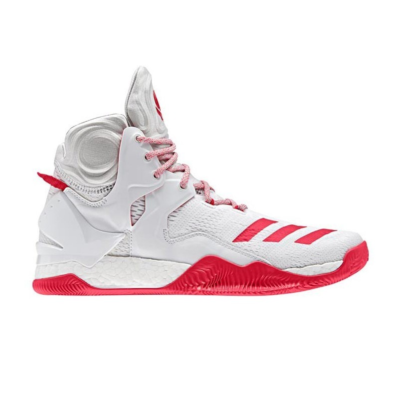 D ROSE Chaussure adidas de 7 Basketball BlancRouge wnZvt