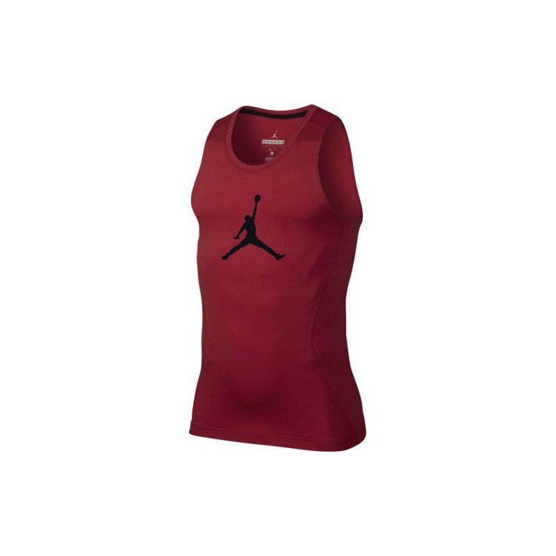 Débardeur compression Jordan All Season 23 rouge pour homme