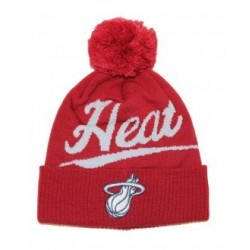 Bonnet NBA Miami Heat Mitchell & Ness Greyton Script