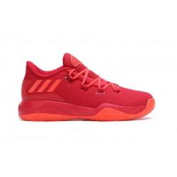 Chaussure de Basket adidas Crazy Fire Rouge pour Homme