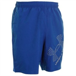 Short under armour 8 Woven graphic Bleu pour homme
