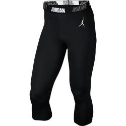Bas de compression 3/4 Air Jordan Tight All Season 23 Noir pour homme