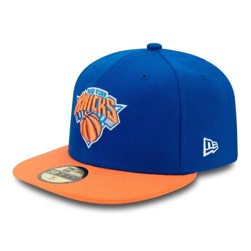 091d7d65e1e1a Casquette NBA New York Knicks New Era basic 59fifty bleu