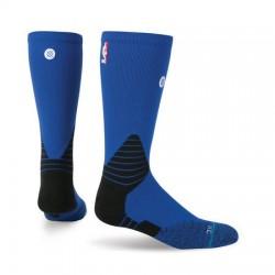 Chaussettes NBA Stance Solid Crew oncourt bleu