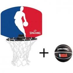 Spalding Mini panier Logoman NBA