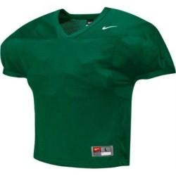 Maillot d'entrainement de football américain nike velocity 2.0 practice Rouge bordeaux vert